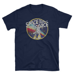 Space Force vintage Short-Sleeve Unisex T-Shirt