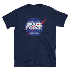 United States Space Force Pew Pew Short-Sleeve Unisex T-Shirt