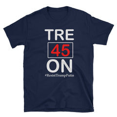 Tre45On Resist Trump Putin Short-Sleeve Unisex T-Shirt