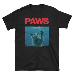 Paws Kitten Meow Parody Short-Sleeve Unisex T-Shirt