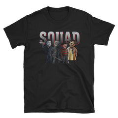 Squad jason michael horror squad 2018 Short-Sleeve Unisex T-Shirt