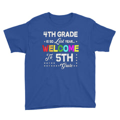 4TH Grade is so last year Welcome to 5th Grade