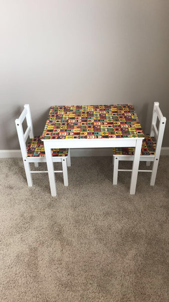 "How To: Children's Table ""Repurpose"""