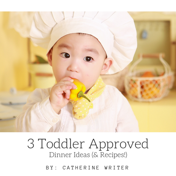 3 Toddler Approved Dinner Ideas (& Recipes!)