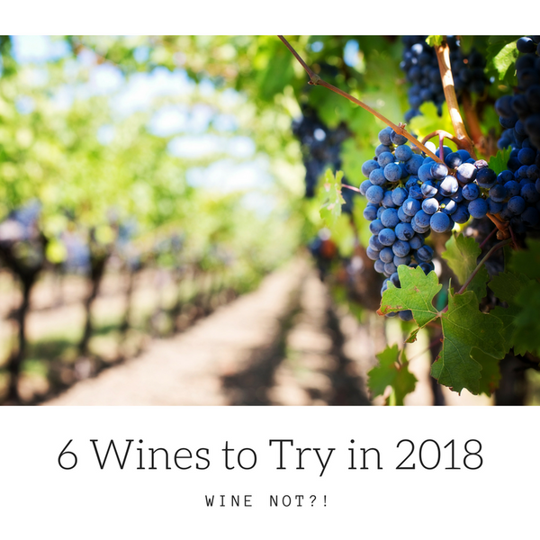 Wine Not?! 6 Wines You Need To Know About in 2018