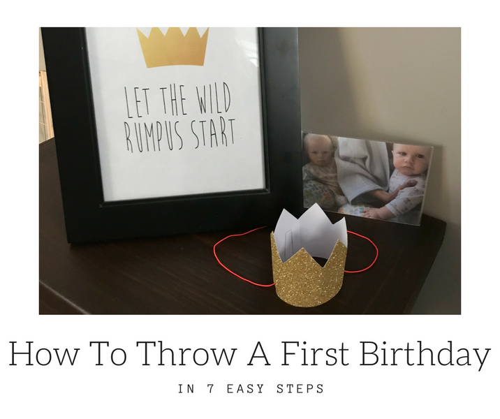 How to Throw a First Birthday Party