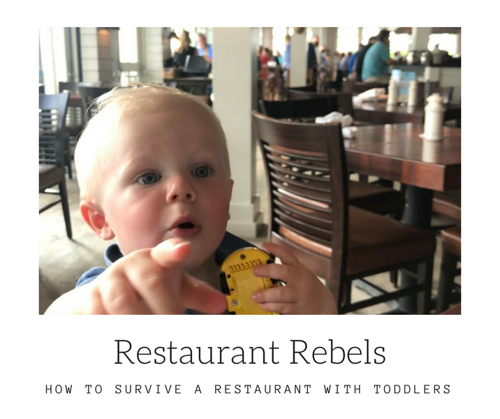 How To Survive Restaurants With Toddlers