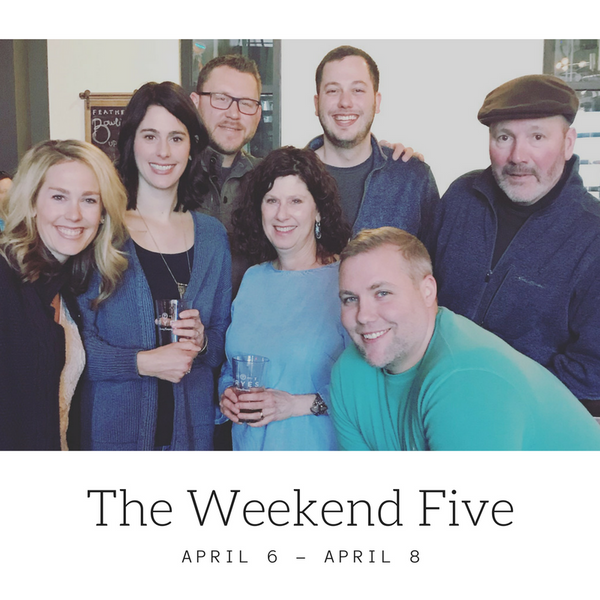 Our Weekend in 5 Photos