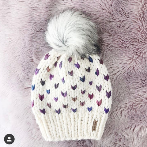 Whirls and Purls handmade knit hats Minneapolis, MN
