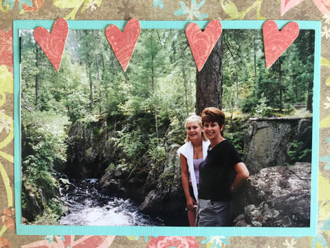 Mom and Daughter | Vermillion Falls