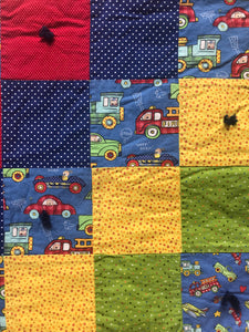 Cars and Trucks Baby Blanket - Two|Three|Four