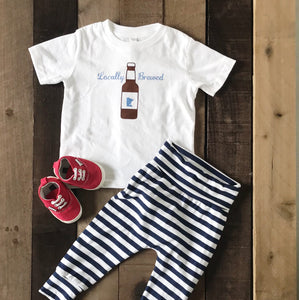 Locally Brewed Tee For Toddlers - Two|Three|Four