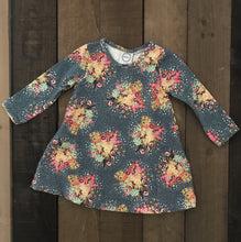 Swing Dress For Toddler and Baby Girls - Two|Three|Four