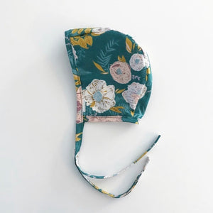 Floral Bonnet for Baby and Toddler Girls - Two|Three|Four