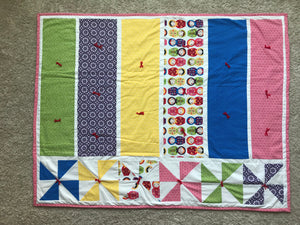 Matryoshka Baby Blanket - Two|Three|Four