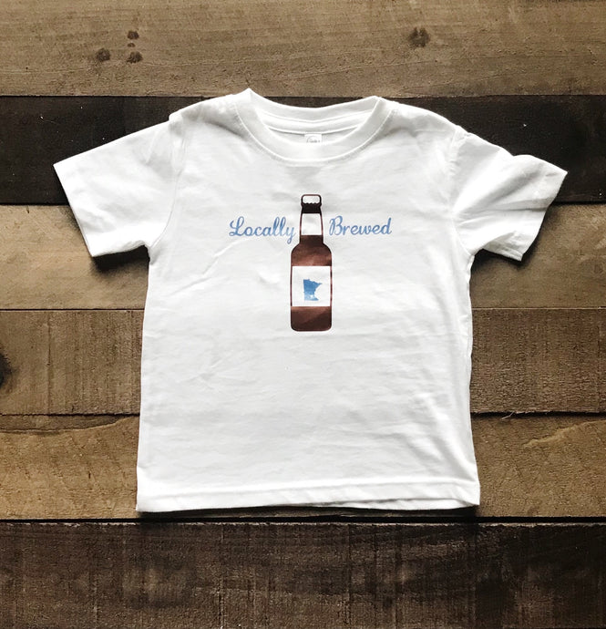 Short Sleeve T-Shirt | Locally Brewed - Two|Three|Four