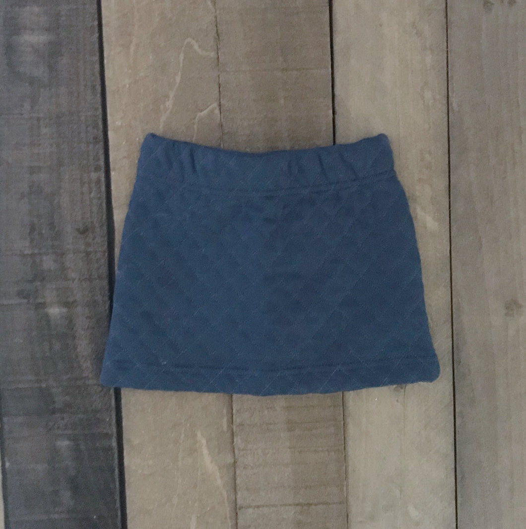 Quilted Skirt For Toddler Girls - Two|Three|Four