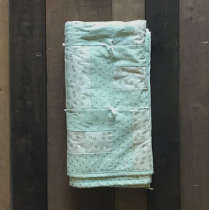 Minty Green Quilt - Two|Three|Four