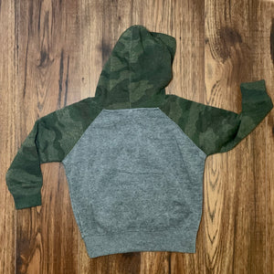 Kids Camouflage Hoodie - I'd Rather Be In The Woods - Two|Three|Four