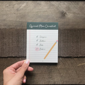 Greeting Card | MoM Checklist - Two|Three|Four