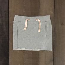 Raw Edge Jersey Skirt for Toddler Girls - Two|Three|Four