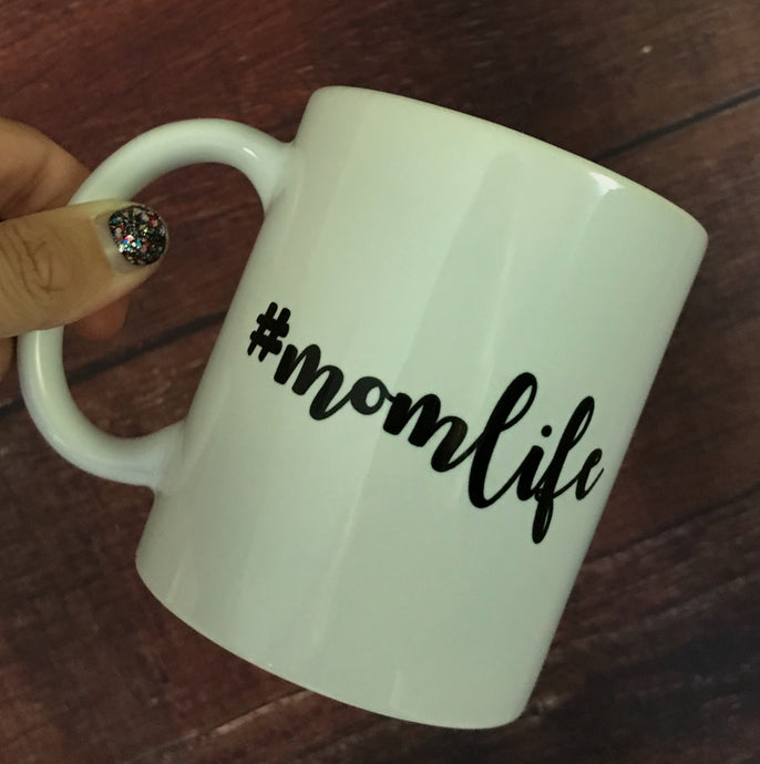 Mom Life Coffee Mug For Mom - Two|Three|Four