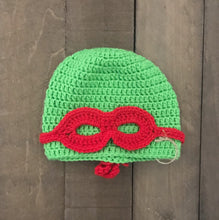 Ninja Turtle Winter Hat For Toddler - Two|Three|Four