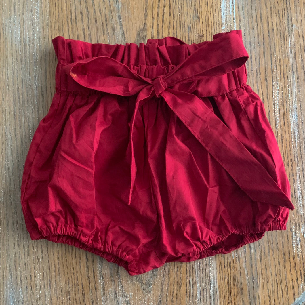 Bloomer Shorts With Tie Belt for Toddler Girls - Two|Three|Four