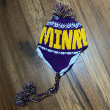 Kids Minnesota Vikings Pom Hat - Two|Three|Four