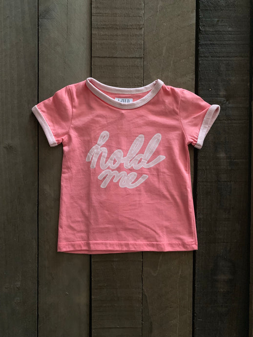 Hold Me Tee For Toddlers - Two|Three|Four