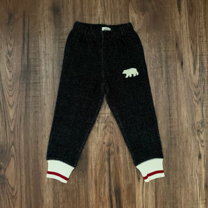 Cozy Joggers With Bear for Toddlers - Two|Three|Four