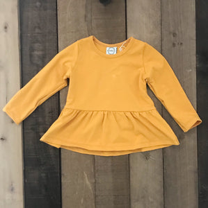 Peplum Top For Toddler Girls - Two|Three|Four