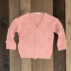 Chunky Cardigan for Toddler Girls - Two|Three|Four