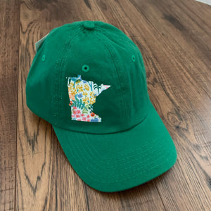 Minnesota Appliqué Baseball Cap For Toddlers - Two|Three|Four