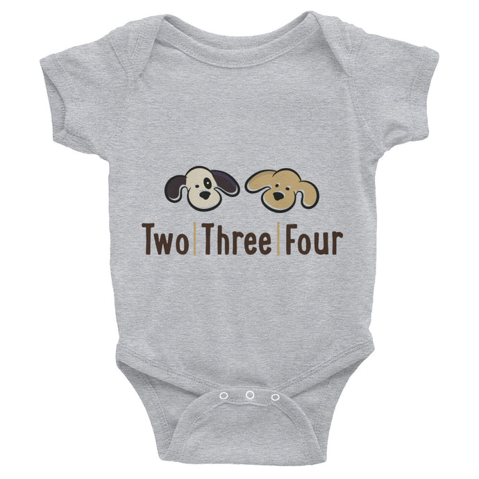 Two Three Four Brand Bodysuit For Baby - Two|Three|Four