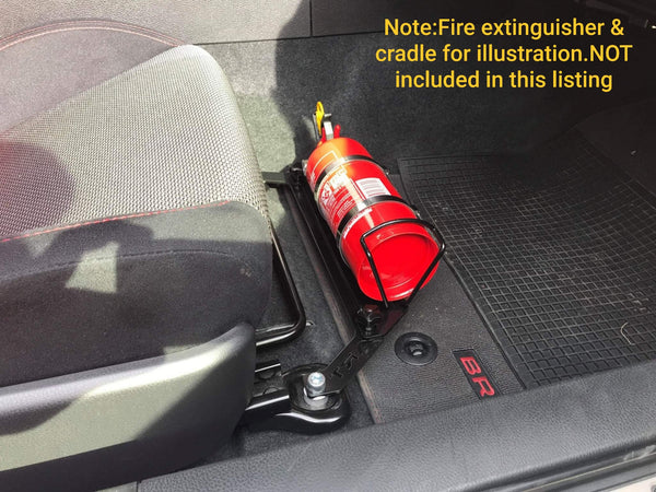 Fire extinguisher Bracket to suit Toyota GT86 / Subaru BRZ
