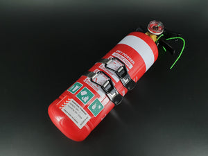 Fire Extinguisher 1kg ABE Professional Dry Powder & metal mounting cradle - Car/Boat/Home