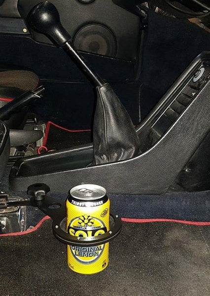 Cup Holder to suit Porsche 911SC, Carrera, 930Turbo, 964, 993 in Aluminium Alloy