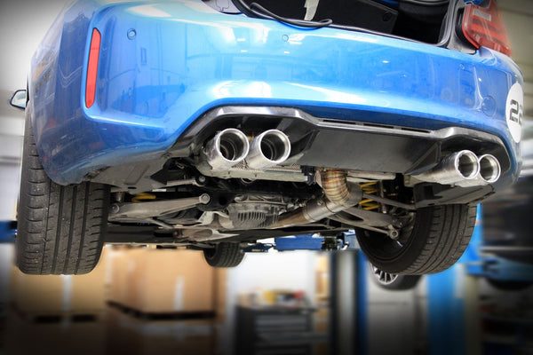 Tubi Style BMW M2 F87 rear exhaust
