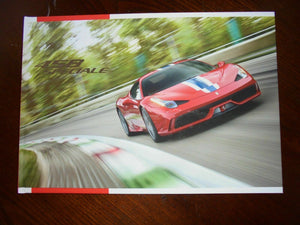 GENUINE Ferrari 458 SPECIALE Brochure Hardback Book -Sealed In Plastic