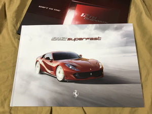 GENUINE FERRARI 812 SUPERFAST brochure hardcover book Prospekt catalogue