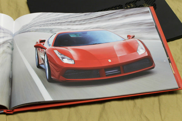 Genuine Ferrari 488GTB Hardcover Brochure