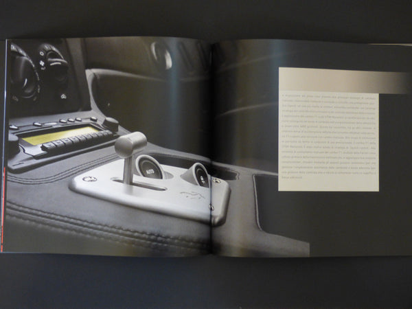 Genuine Ferrari 575M Maranello Brochure