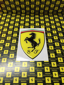 Genuine Ferrari Scuderia Resin Badge/ Shield Sticker