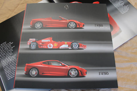 FERRARI F430 & 430 SPIDER brochure, Prospekt catalogue