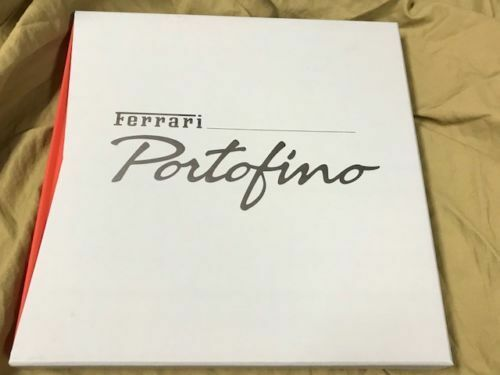 FERRARI PORTOFINO hardcover brochure book Prospekt catalogue