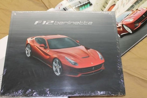 Genuine Ferrari F12 berlinetta Hardcover Brochure