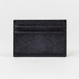 Saffiano Card Holder in Black