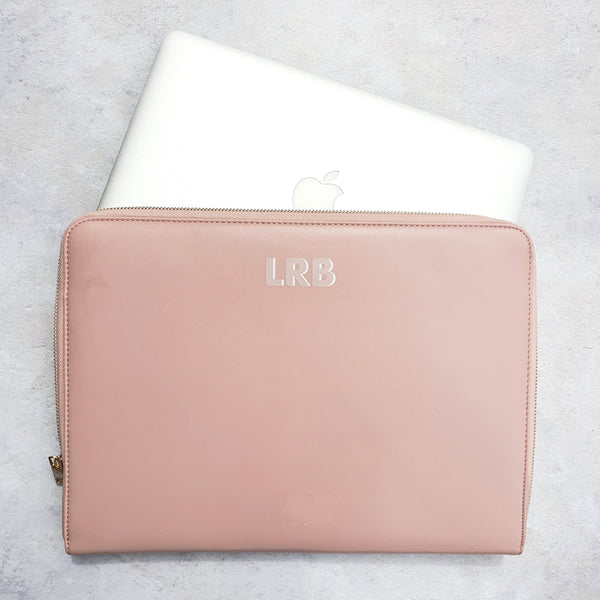 Personalised Laptop Case - Blush Dropshadow