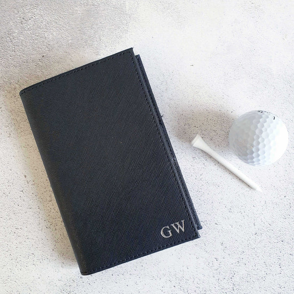 Personalised Golf Scorecard Holder